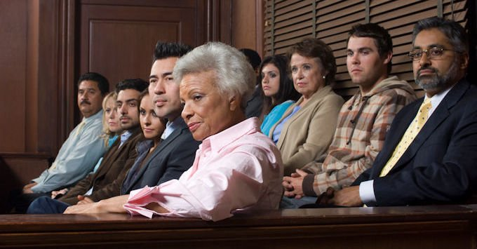 A jury